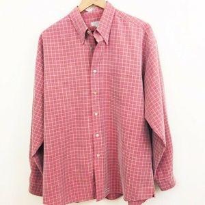 Ted Baker Grid Check Dress Shirt